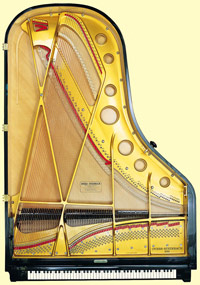Piano Structure - ساختار پیانو