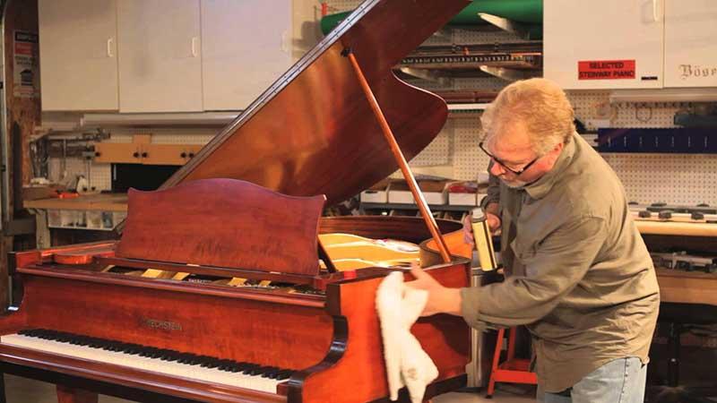 پیانو - نگهداری ، قسمت اول